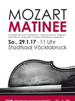 Mozart Matinee im Stadtsaal Vöcklabruck