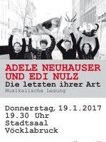 Adele Neuhauser & Edi Nulz im Stadtsaal Vöcklabruck