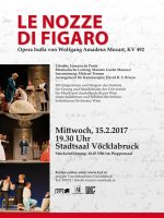 Le Nozze di Figaro im Stadtsaal Vöcklabruck