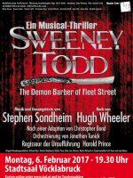 Sweeney Todd im Stadtsaal Vöcklabruck