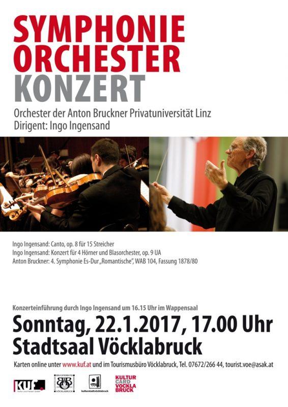 Symphonieorchesterkonzert im Stadtsaal Vöcklabruck