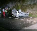 Schwerer Verkehrsunfall in Aurachkirchen (3)