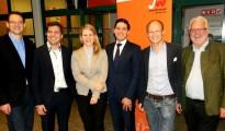 Bezirksleitung der Jungen Wirtschaft Vöcklabruck neu gewählt