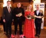 Lions-Präsident Mag. Bernd Baumgartinger, Markus Englert, Kathrin Bechstein, Alexander Hafen
