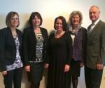 von links: Dir. Eva Holl, OSR Helga Kampl, SR Elisabeth Hörschläger, Dir. Gertrude Ruttner, Schulreferent OSR Herbert Theil