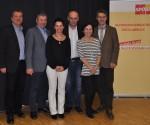 LAbg. Christian Makor, Bgm. Johann Forstinger, Renate Schuster, Bruno Samija, Irene Reiter und LAbg. Hermann Krenn