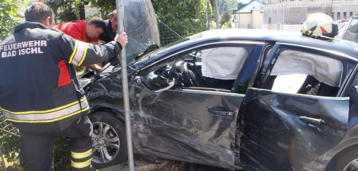 Erneuter Verkehrsunfall in Bad Ischl