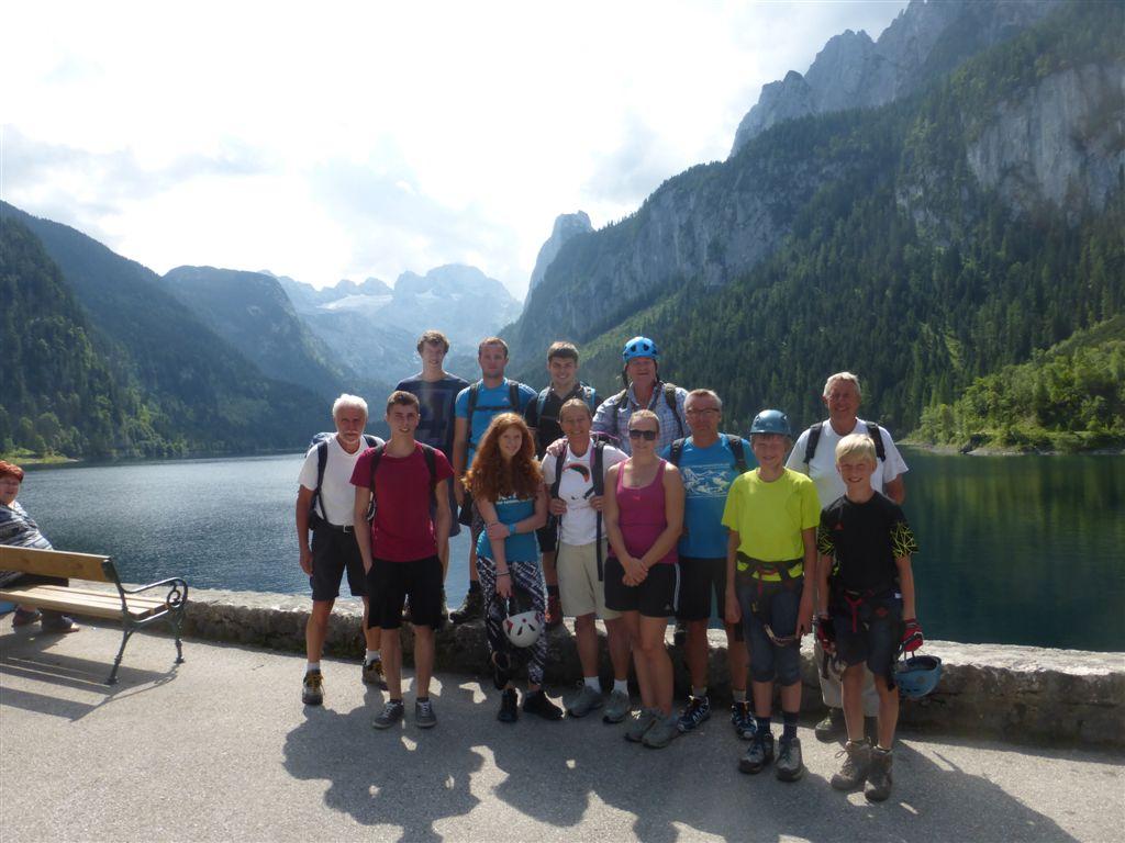 Klettersteig Gosausee : Klettersteigkurs am gosausee klettersteig salzi.at aktuelles aus