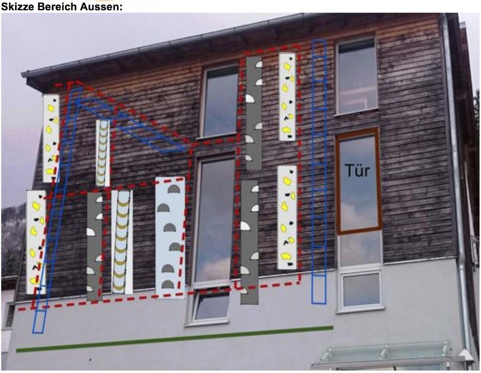 Klettersteig Bad Ischl : Klettersteig beschreibung ewige wand