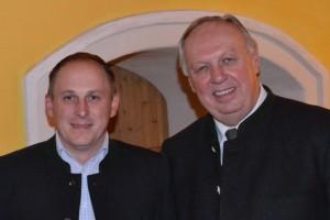 v.l.n.r.: Maximilian Huber, 2.LTPräs. DI Dr. Adalbert Cramer (Foto: privat)