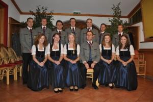 Vorstand Ortsmusikkapelle Sankt Konrad