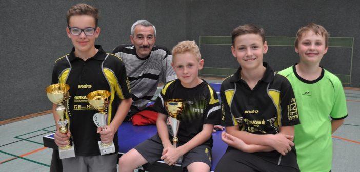 Ebensee festigt Ruf als Tischtennis-Hochburg