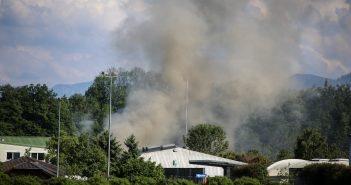 Gewerbebrand in Redlham (1)