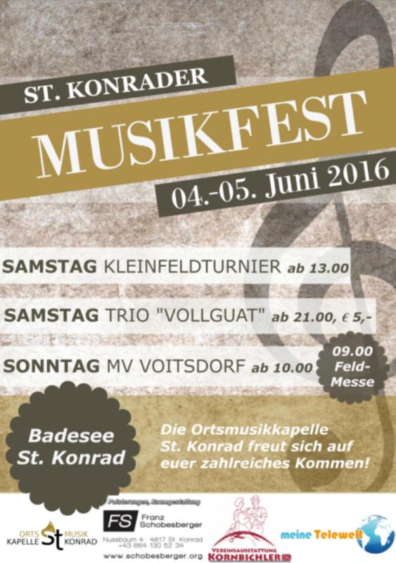 St. Konrader Musikfest