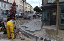 Pflasterungsarbeiten in Gmunden