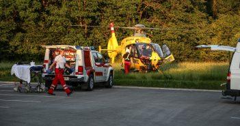 Schwerer Motorradunfall zwischen Rüstorf und Schwanenstadt | laumat