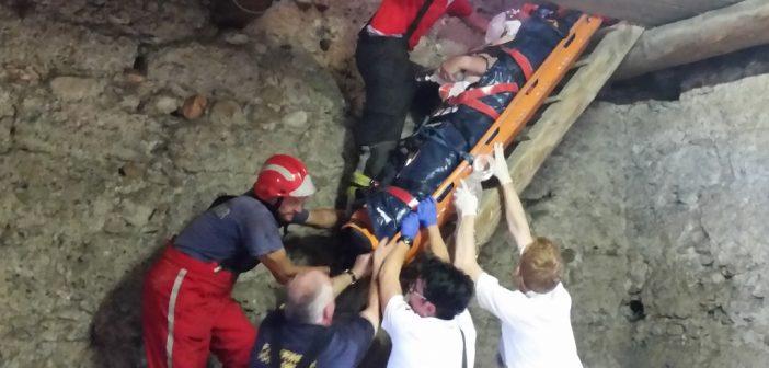 Person von Vöcklabrucker Stadtturm gerettet