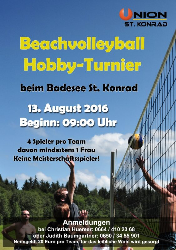 Volleyballturnier2016