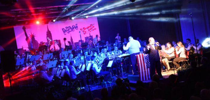 WK Steyrermühl mit einer Frank Sinatra-Show
