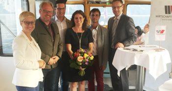 v.l.: LO Mag. Doris Hummer, Wolfgang Gröller, Andreas Moser, Mag. Iris Loidl, Helmut Erhardt, WO-BO Martin Ettinger (Foto: privat)