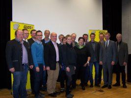 das neue Team der ÖVP-Atzbach 4.v.r. Georg Obermaier