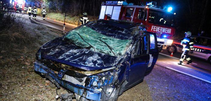 Schwerer Verkehrsunfall in Grünau im Almtal