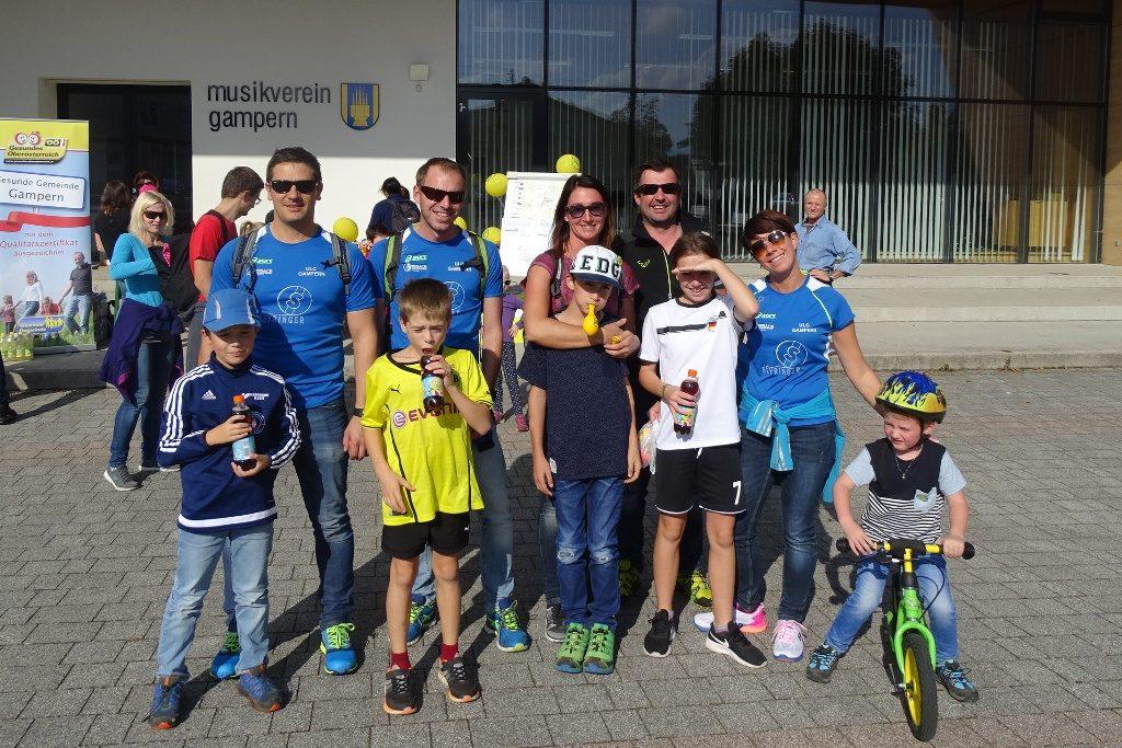 Viele Familien nutzen den schönen Sonntag und nahmen am Benefizsporttag teil.