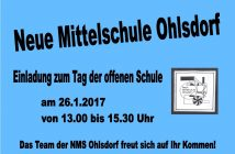 Tag der offenen Schule NMS Ohlsdorf