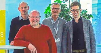 OA Dr. Christian Dopler, OA Dr. Gunar Gebhartl, OA Dr. Christian Preisinger, Prim. Priv. Doz. Dr. Karl-Heinz Stadlbauer