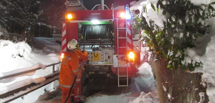 Kaminbrand in Bad Goisern