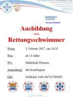 Ausbildung Rettungsschwimmer