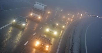 Autobahn A1 Nebel 03 © Wolfgang Spitzbart