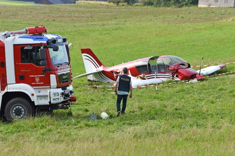 Nachrichten Flugzeug Absturz