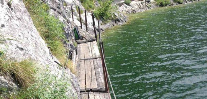 Miesweg am Traunsee-Ostufer bleibt weiterhin gesperrt