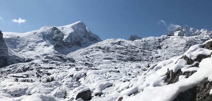 Erschöpfte Skitourengeher vom Hallstätter Gletscher gerettet