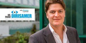 Dr. Franz Dirisamer – neuer Kassenarzt für Augenheilkunde in Gmunden