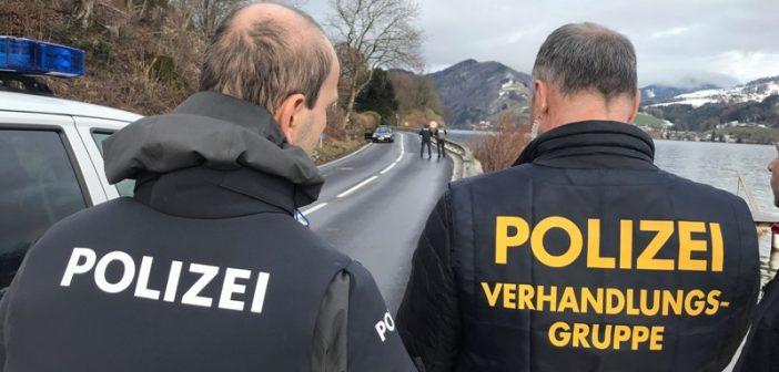 Cobra-Einsatz in Unterach: Mann schoss um sich