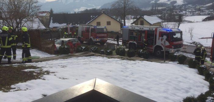 Wohnhausbrand gerade noch verhindert