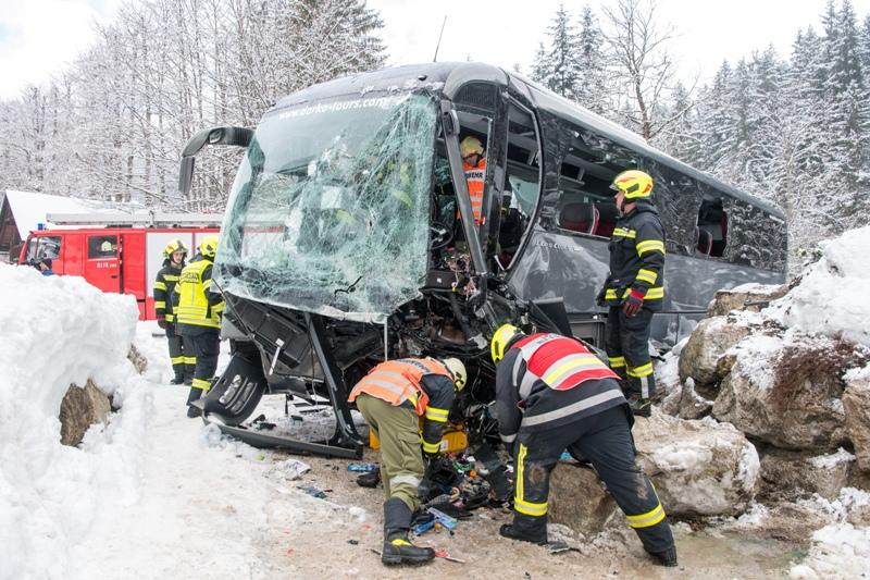 Busunfall Heute Morgen