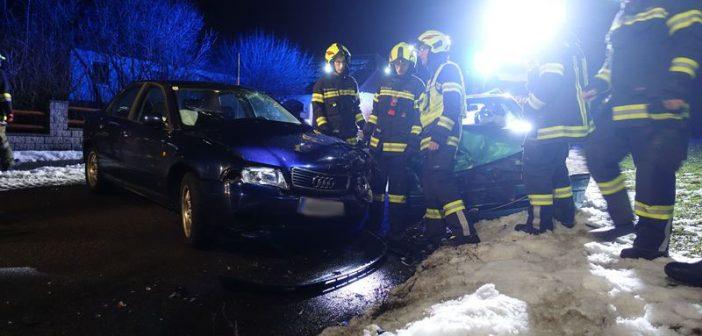 Verkehrsunfall in Atzbach