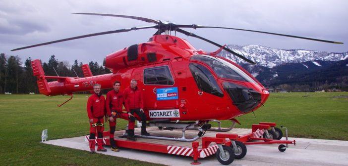 1 Jahr Flugrettung Martin 3 in Scharnstein