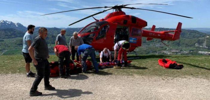 Rettungseinsatz am Grünberg