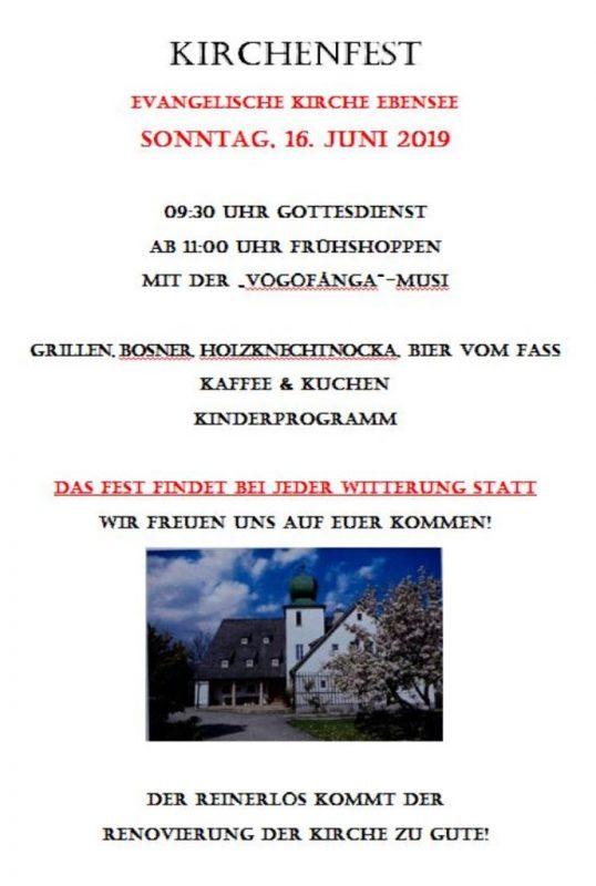 Kirchenfest - salzi.at | Aktuelles aus dem Salzkammergut