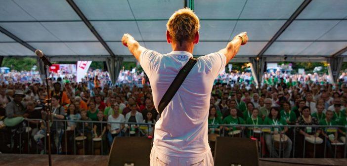 2285 Trommler holten Weltrekord nach Vöcklabruck