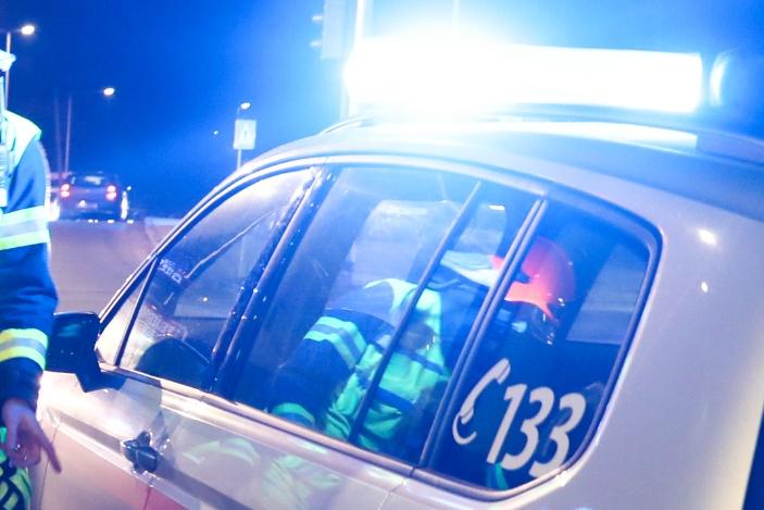 Alkolenker fuhr auf Polizisten los