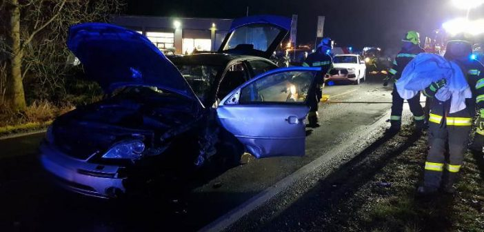 Schwerer Verkehrsunfall in Frankenburg