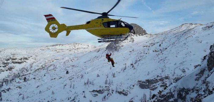 Skifahrerin am Krippenstein 80 Meter abgestürzt abgestürzt