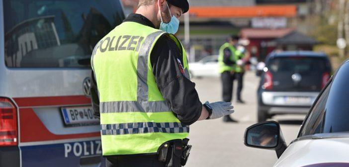 Polizeikontrollen und weitere Sperren im Salzkammergut