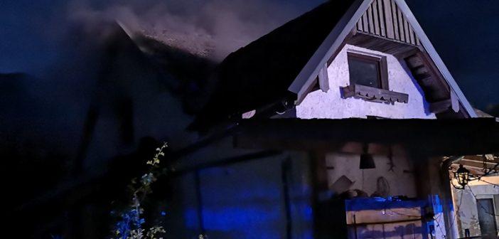 Wohnhausbrand in Bad Ischl