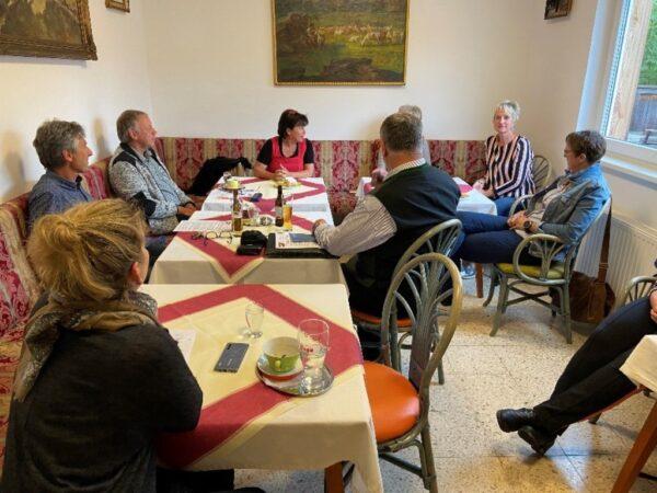 Soziallandesrätin Birgit Gerstorfer auf Bezirkstag im Salzkammergut